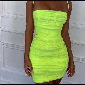 House of CB Ella neon dress !SOLD!